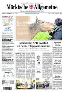 Neue Oranienburger Zeitung - 22. November 2017