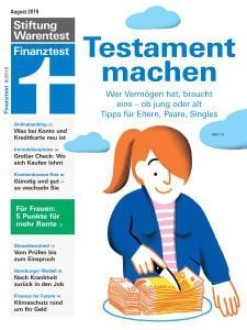 Finanztest - August 2019