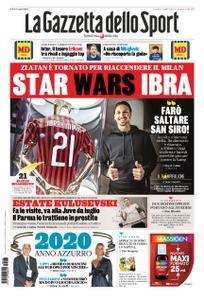 La Gazzetta dello Sport – 03 gennaio 2020