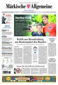 Märkische Allgemeine Dosse Kurier - 14. Juli 2018