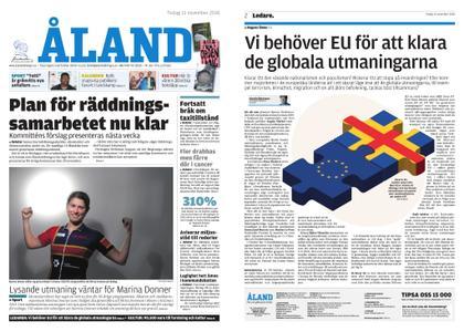Ålandstidningen – 13 november 2018