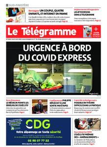 Le Télégramme Ouest Cornouaille – 02 avril 2020