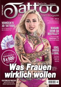 Tattoo-Spirit Nr.95 - Oktober-November 2018