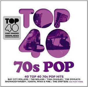 VA - Top 40: 70s Pop (2014)