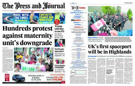 The Press and Journal Moray – July 16, 2018
