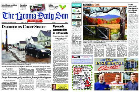 The Laconia Daily Sun – November 14, 2018
