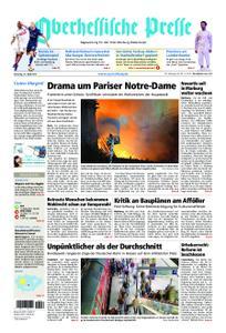Oberhessische Presse Marburg/Ostkreis - 16. April 2019