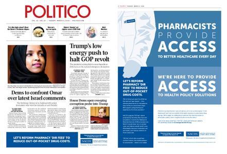 Politico – March 05, 2019