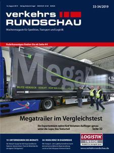 VerkehrsRundschau - 12. August 2019