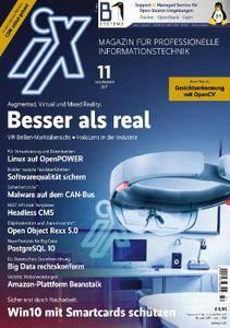 iX Magazin - November 2017