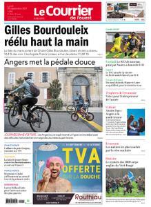 Le Courrier de l'Ouest Angers – 20 septembre 2021