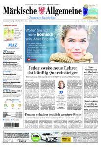 Märkische Allgemeine Zossener Rundschau - 17. März 2018