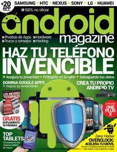 Android Magazine Spain - Issue 45 2016