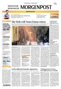 Solinger Morgenpost – 17. April 2019