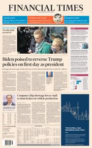 Financial Times Europe - January 18, 2021