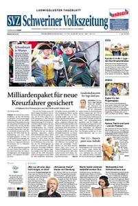 Schweriner Volkszeitung Ludwigsluster Tageblatt - 17. August 2019