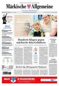 Märkische Allgemeine Zossener Rundschau - 29. November 2017