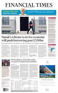 Financial Times UK - July 9, 2020