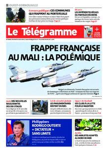 Le Télégramme Ouest Cornouaille – 16 avril 2021