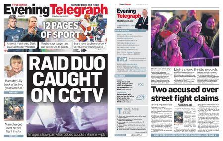 Evening Telegraph First Edition – November 16, 2018