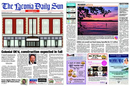 The Laconia Daily Sun – July 24, 2019