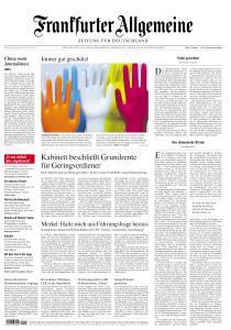 Frankfurter Allgemeine Zeitung - 20 Februar 2020