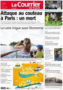 Le Courrier de l'Ouest Angers - 13 mai 2018