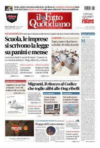 Il Fatto Quotidiano - 12 Agosto 2017
