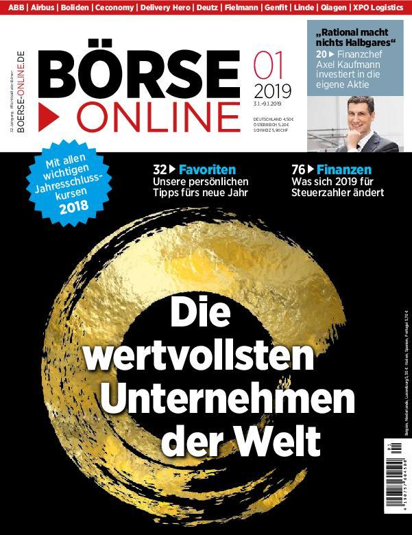 Börse Online – 03. Januar 2019