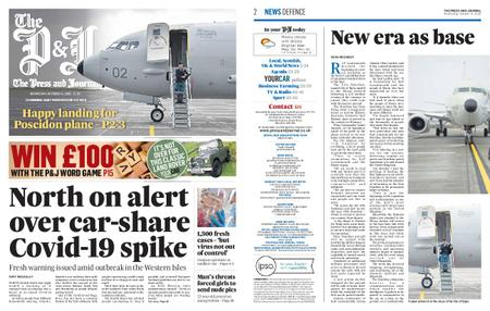 The Press and Journal Moray – October 14, 2020