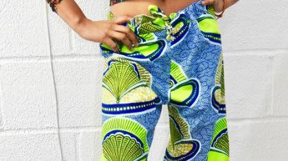 Sew drawstring pants