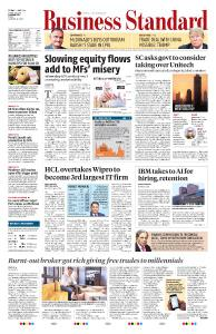 Business Standard - May 10, 2019