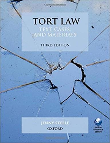 Tort Law: Text, Cases, and Materials (Repost)