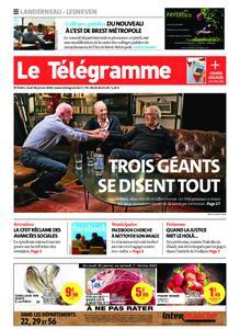 Le Télégramme Landerneau - Lesneven – 30 janvier 2020