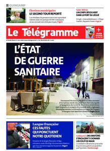 Le Télégramme Guingamp – 17 mars 2020