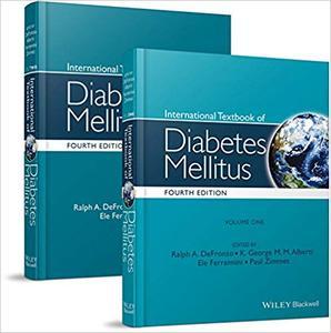 International Textbook of Diabetes Mellitus, 2 Volume Set Ed 4
