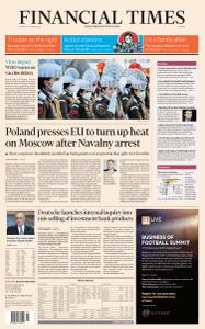 Financial Times Europe - January 25, 2021