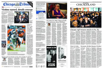 Chicago Tribune – October 29, 2018