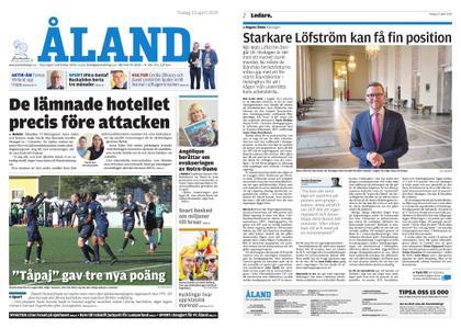 Ålandstidningen – 23 april 2019