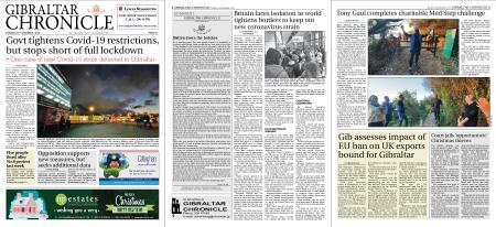 Gibraltar Chronicle – 22 December 2020