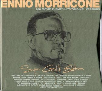 Ennio Morricone - 100 Movie Themes Hits - Original Versions: Super Gold Edition (2005) 6CD Box Set [Re-Up]