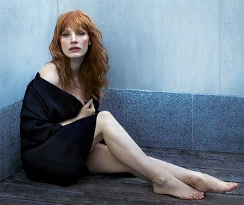 Jessica Chastain by Lorenzo Agius for Telegraph Magazine January 2015