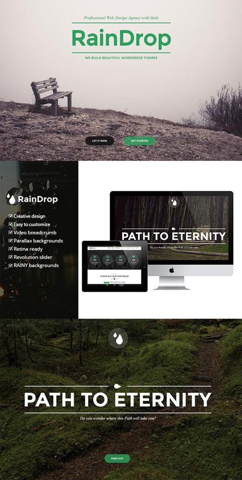 Creativemarket - RainDrop - A Multipurpose Theme