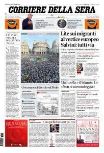 Corriere della Sera – 15 settembre 2018