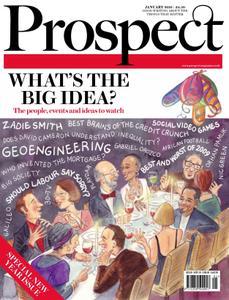 Prospect Magazine - January 2010