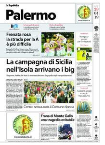 la Repubblica Palermo – 23 aprile 2019