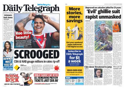 The Daily Telegraph (Sydney) – October 02, 2019