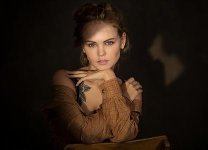 Anastasiya Scheglova by Chris Bos