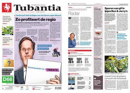 Tubantia - Enschede – 11 oktober 2017