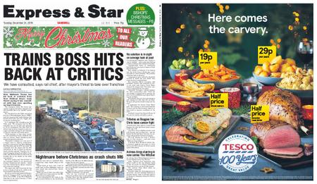 Express and Star Sandwell Edition – December 24, 2019